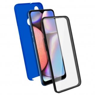 Schutzhülle für Samsung Galaxy A10s, Vorder- + Rückseite ? Blau