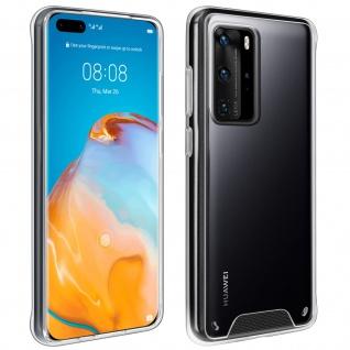 Cristal Hybrid Schutzhülle für Huawei P40 Pro / P40 Pro Plus - Transparent