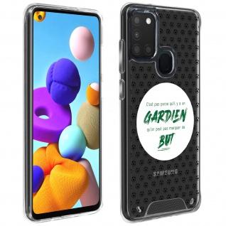 Handyhülle für Samsung Galaxy A21s, Made in France ? Torhüter Design