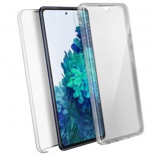 Schutzhülle für Samsung Galaxy S20 FE, Vorder- + Rückseite ? Transparent