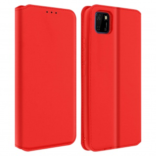 Kunstleder Cover Classic Edition Huawei Y5p - Rot
