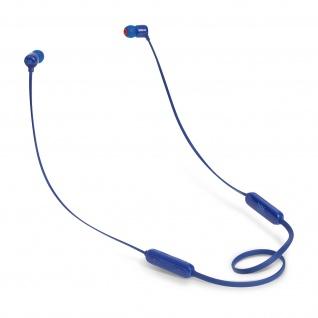 JBL T110BT magnetische in-ear Kopfhörer mit Fernbedienung & Mikrofon - Blau