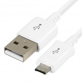 Original Samsung 1m USB/ Micro-USB Kabel - Aufladen & Synchronisierung - Weiß