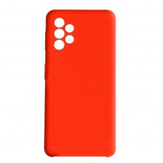 Venus Series halbsteife Soft-Touch Silikonhülle Samsung A52 / A52 5G ? Rot