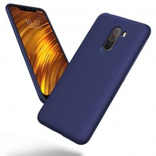 Xiaomi Pocophone F1 Schutzhülle, Soft Silikonhülle, ultradünne Hülle - Blau