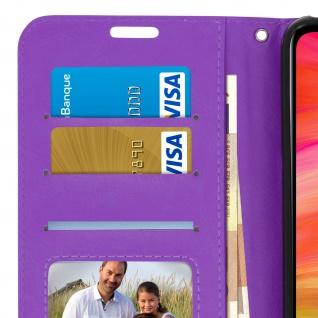Flip Stand Cover Brieftasche & Standfunktion für Xiaomi Redmi 7 - Violett - Vorschau 5