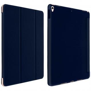 Trifold Klapphülle mit Standfunktion iPad Air 2019 / iPad Pro 10.5 ? Dunkelblau