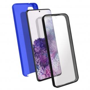 Schutzhülle für Samsung Galaxy S20, Vorder- + Rückseite ? Blau