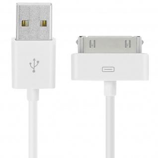 Apple 30-Polig auf USB-Ladekabel - Aufladen und Synchronisierung - Weiß