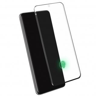 4Smarts - Schutzfolie Second Glass für Samsung Galaxy S20 Plus - Rand Schwarz