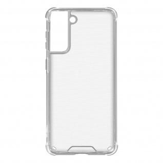 Flexible Samsung Galaxy S21 Silikon Bumper Hülle, stoßfest â€? Transparent