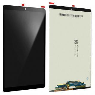 Ersatzdisplay Galaxy Tab A 10.1 2019 kompatibel, Scheibe vormontiert ? Schwarz