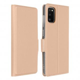 Klappetui mit Kartenfach & Standfunktion Samsung Galaxy A41 - Rosegold
