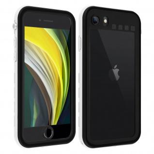 Redpepper Waterproof Handyhülle für Apple iPhone SE 2020 / 8 / 7 - Weiß