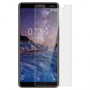 Displayschutzfolie aus gehärtetem Glas für Nokia 7 Plus â€? 9H Härtegrad