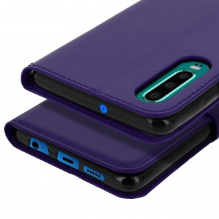 Flip Stand Cover Brieftasche & Standfunktion für Huawei P30 - Violett - Vorschau 5