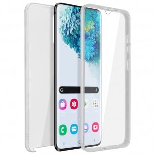 Schutzhülle für Samsung Galaxy S20, Vorder- + Rückseite - Transparent
