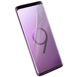 Forcell Full Schutz Latex Schutzfolie für Samsung Galaxy S9 - Transparent
