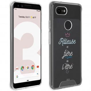 "Handyhülle für Google Pixel 3, Made in France ? "" Râleuse"" Design"