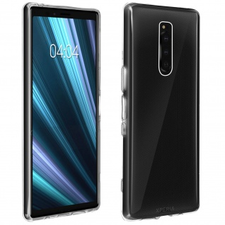 Gelhülle, flexibles Backcover für Sony Xperia 1, frosted case ? Transparent
