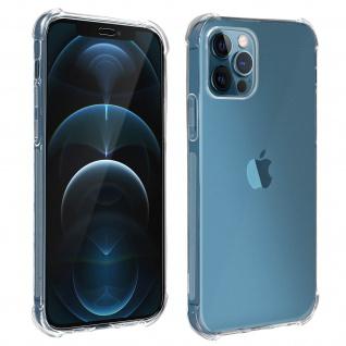 Premium Schutz-Set für iPhone 12 Pro Max Schutzhülle + Schutzfolie ? Transparent