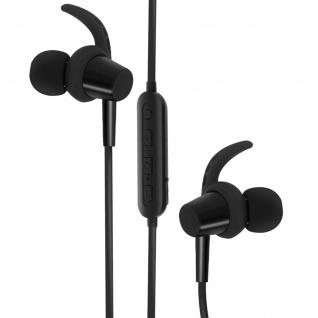 4Sport BSH-400 Bluetooth Kopfhörer, Magnetische Kopfhörer, Forever ? Schwarz