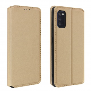Kunstleder Cover Classic Edition Samsung Galaxy A41 - Gold