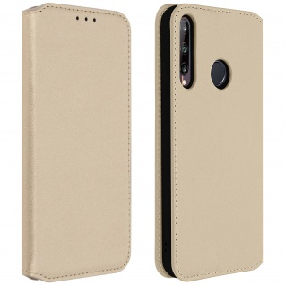 Kunstleder Cover Classic Edition Huawei P40 Lite E - Gold