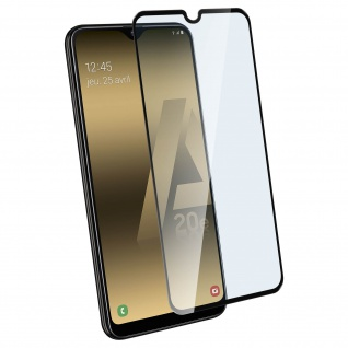 9H Härtegrad kratzfeste Glas-Displayschutzfolie für Galaxy A20e - Schwarz