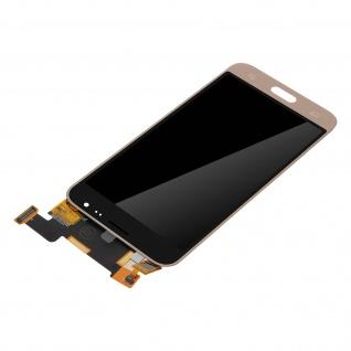 Ersatzdisplay mit Galaxy J3 (2016) kompatibel, Scheibe vormontiert - Gold - Vorschau 4