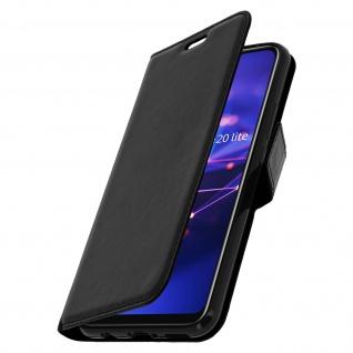 Flip Stand Cover Brieftasche & Standfunktion Huawei Mate 20 lite - Schwarz - Vorschau 2