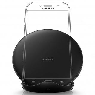 Original Samsung QI Ladestation, 1A Fast Charge und Standfunktion-Schwarz