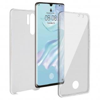 Schutzhülle für Huawei P30 Pro, Vorder- + Rückseite ? Transparent
