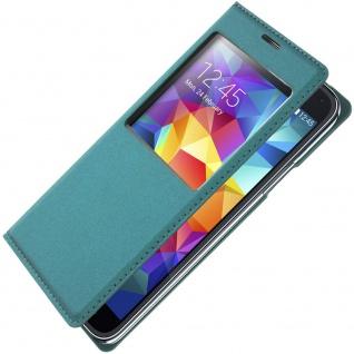 S-View Flip-Schutzhülle für Samsung Galaxy S5, Galaxy S5 Neo - Grün