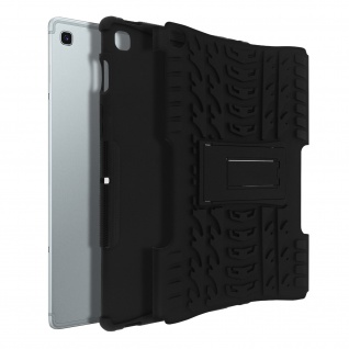 Stoßfeste Schutzhülle + Standfunktion für Samsung Galaxy Tab S5e - Schwarz