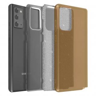 Schutzhülle, Glitter Case für Galaxy Note 20, shiny & girly Hülle ? Gold