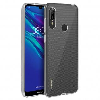 Huawei Y6 2019 Schutzhülle Backcover Silikon Second Skin - Transparent