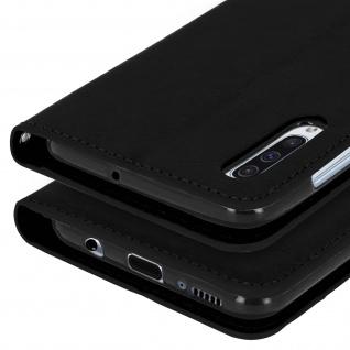 Flip Stand Cover Brieftasche & Standfunktion für Samsung Galaxy A50 - Schwarz - Vorschau 5