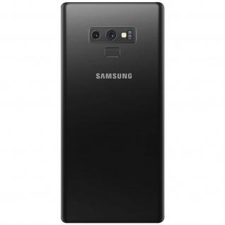 Ersatzteil Akkudeckel, neue Rückseite für Samsung Galaxy Note 9 - Schwarz - Vorschau 3