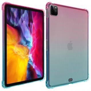 Verstärkte Hülle für iPad Pro 11 2020 / 2018 und iPad Air 2020 ? Rosa / Blau