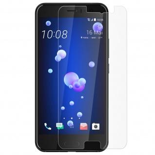 Glas-Displayschutzfolie ultradünn (0, 3mm) und bruchsicher für HTC U11