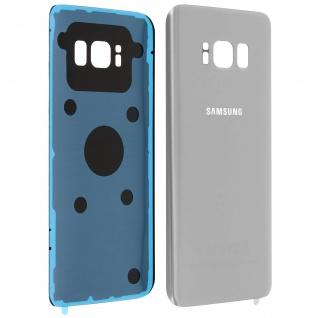 Original Akkudeckel - Rückseite für Samsung Galaxy S8 - Grau