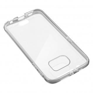 Schutzhülle für Vorder- und Rückseite für Samsung Galaxy S6 ? Transparent