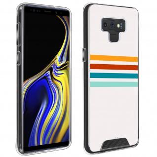 Handyhülle für Samsung Galaxy Note 9, Made in France ? Stripes Design