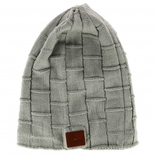 Kabellose Bluetootgh Mütze - Mit Freisprechanlage und Kopfhörer - Grau