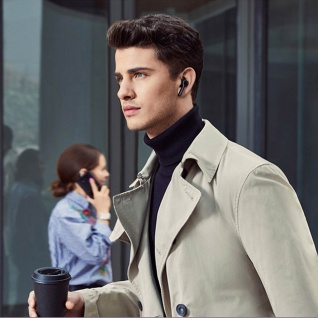 Huawei True Wireless Bluetooth FreeBuds Lite in-ear Kopfhörer - Schwarz - Vorschau 3