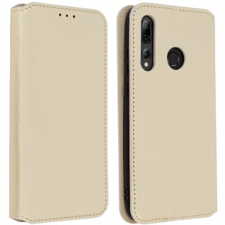 Kunstleder Cover Classic Edition Huawei P Smart plus 2019 - Gold