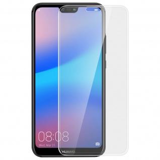 Huawei P20 Lite Displayschutzfolie aus Glas mit abgerundeten Kanten
