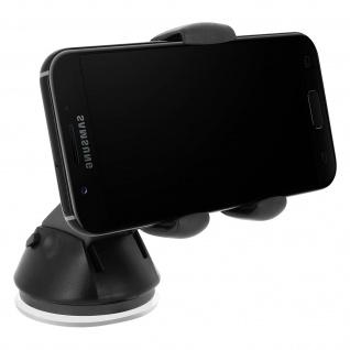 HR-iMotion Universal Smartphones KFZ-Halterung Windschutzscheibe - Schwarz