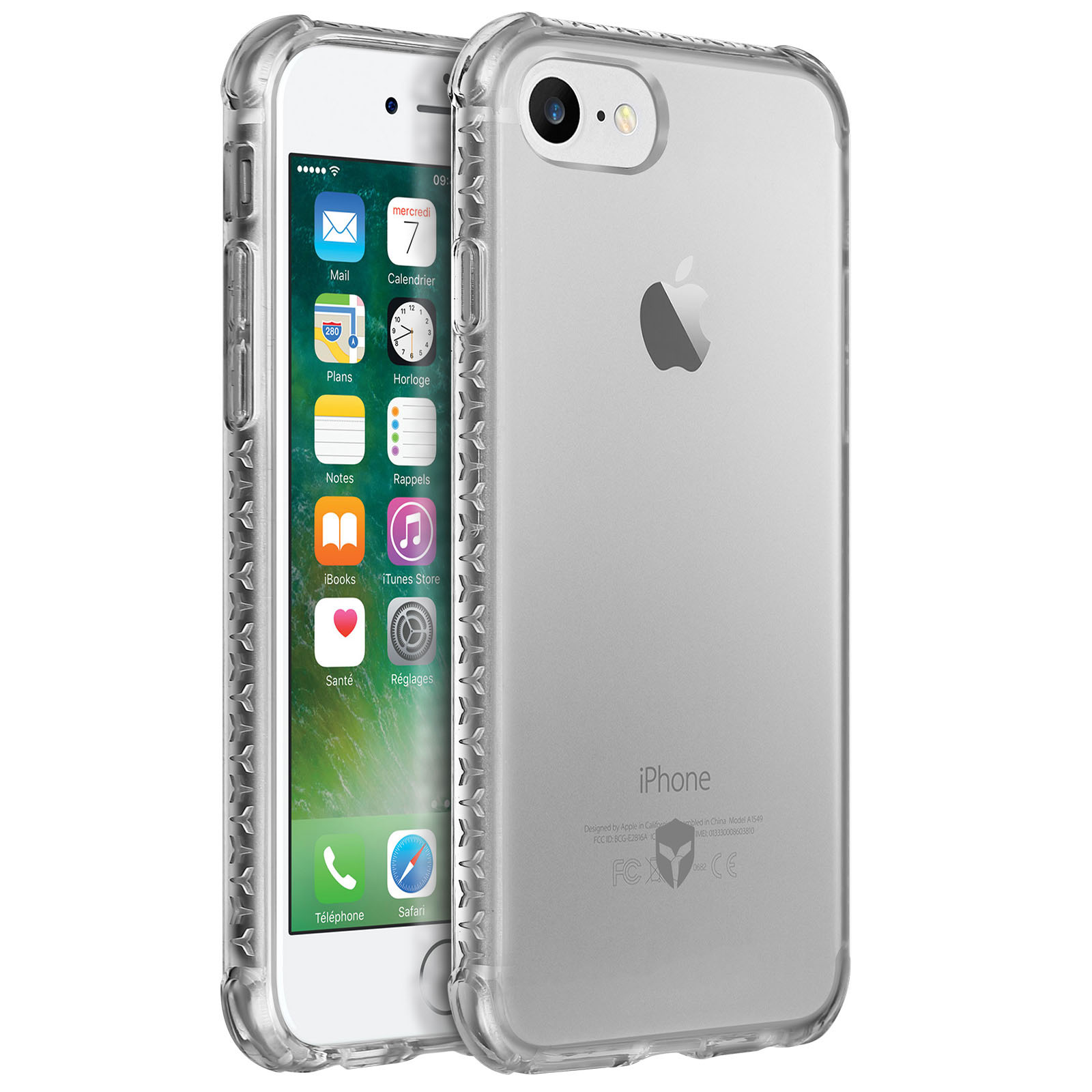 iphone 6 hülle stoßfest transparent